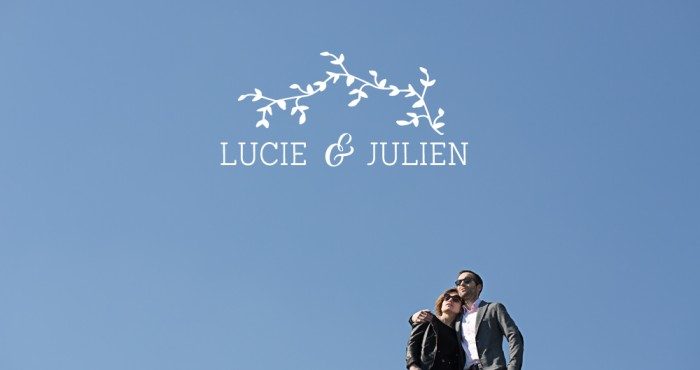 Séance d'engagement sur Paris: Lucie & Julien!