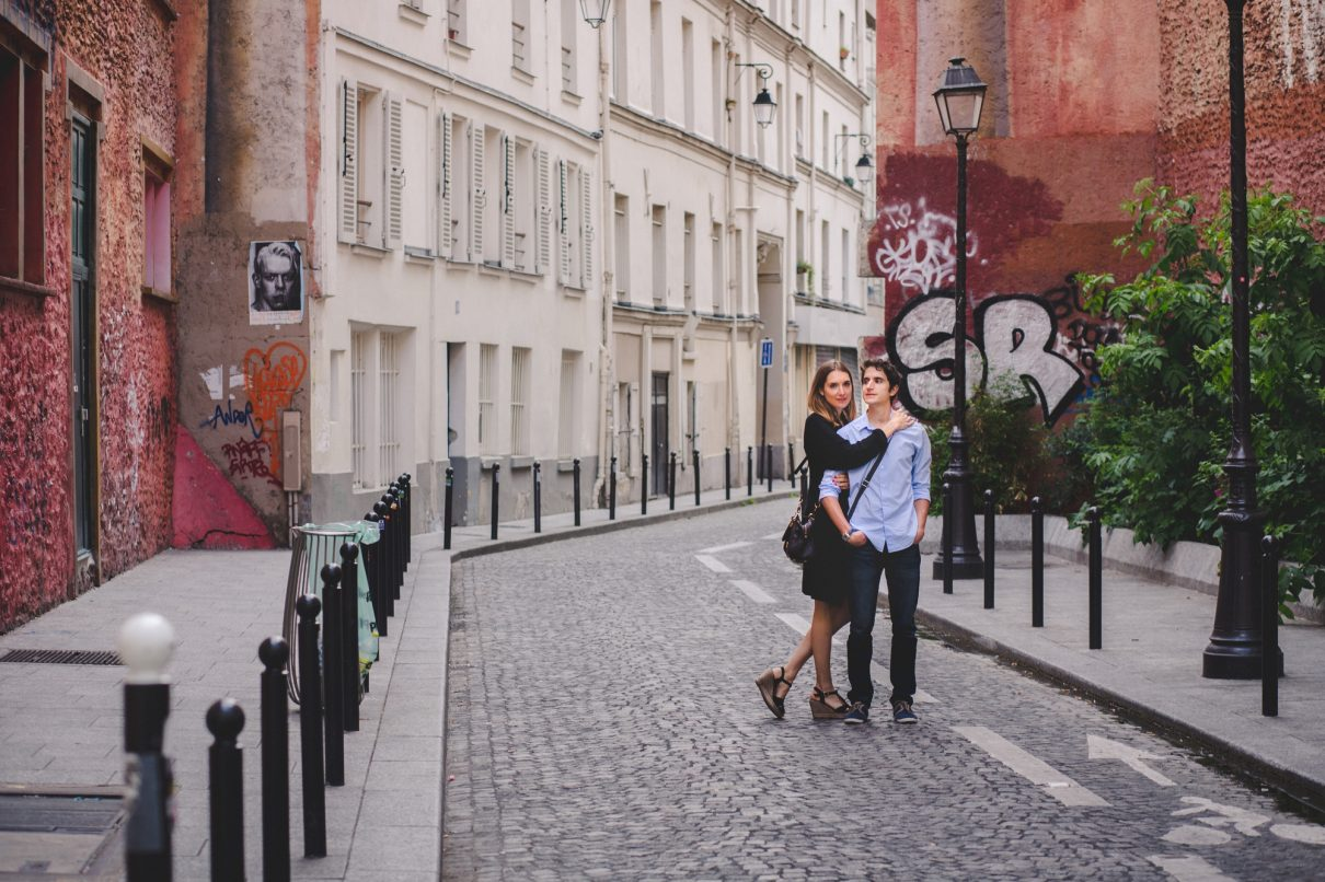 Sweet Felicite Photographe Engagement amoureux paris 1